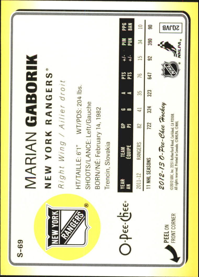 2012-13-O-Pee-Chee-Stickers-Hockey-Card-Pick miniature 33