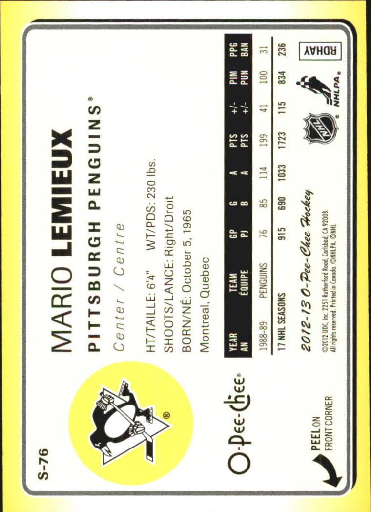 2012-13-O-Pee-Chee-Stickers-Hockey-Card-Pick miniature 35
