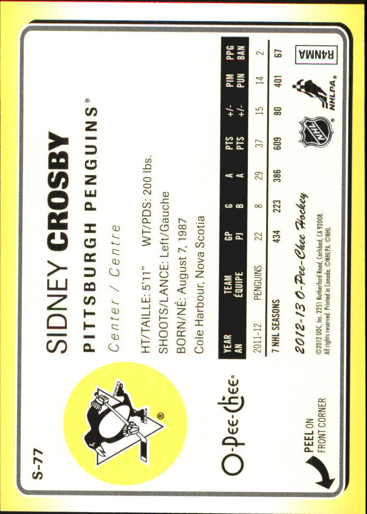 2012-13-O-Pee-Chee-Stickers-Hockey-Card-Pick miniature 37