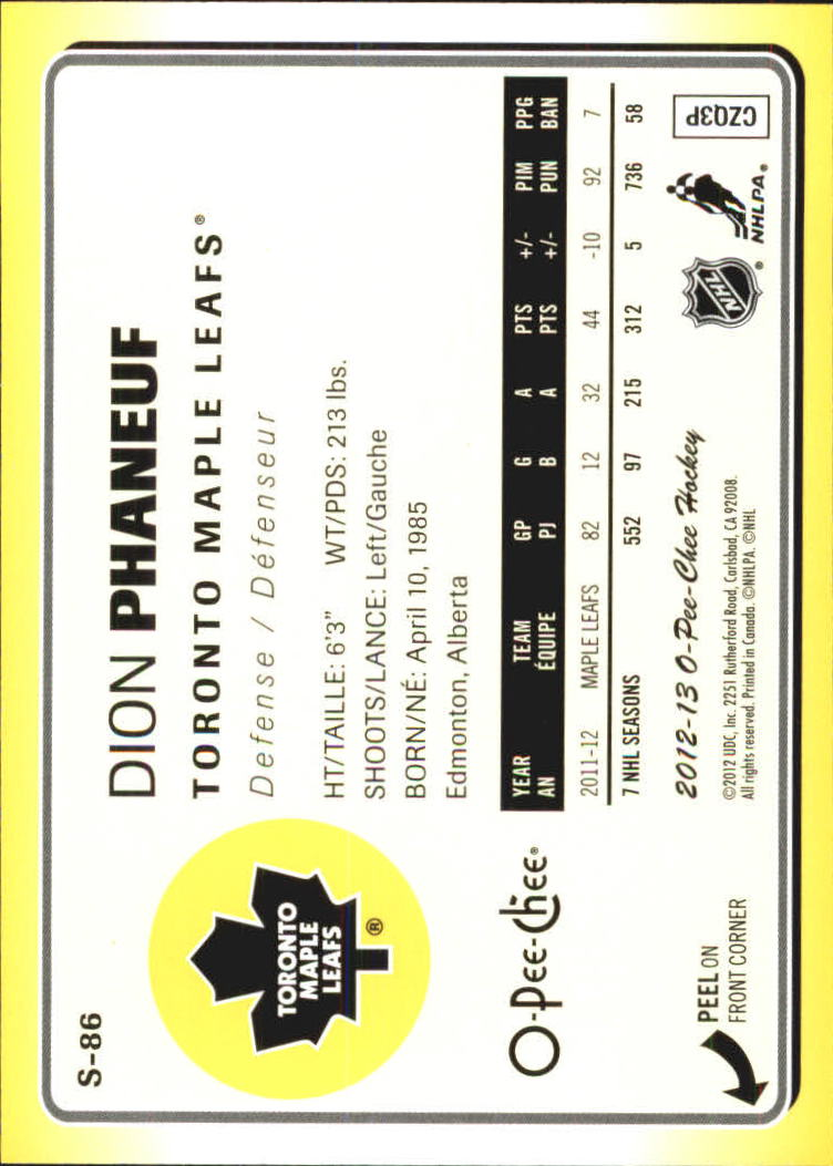 2012-13-O-Pee-Chee-Stickers-Hockey-Card-Pick miniature 39