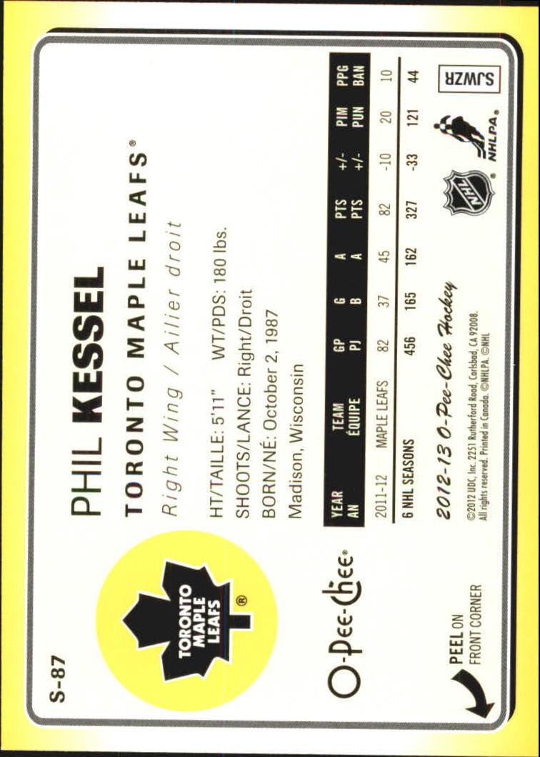 2012-13-O-Pee-Chee-Stickers-Hockey-Card-Pick miniature 41