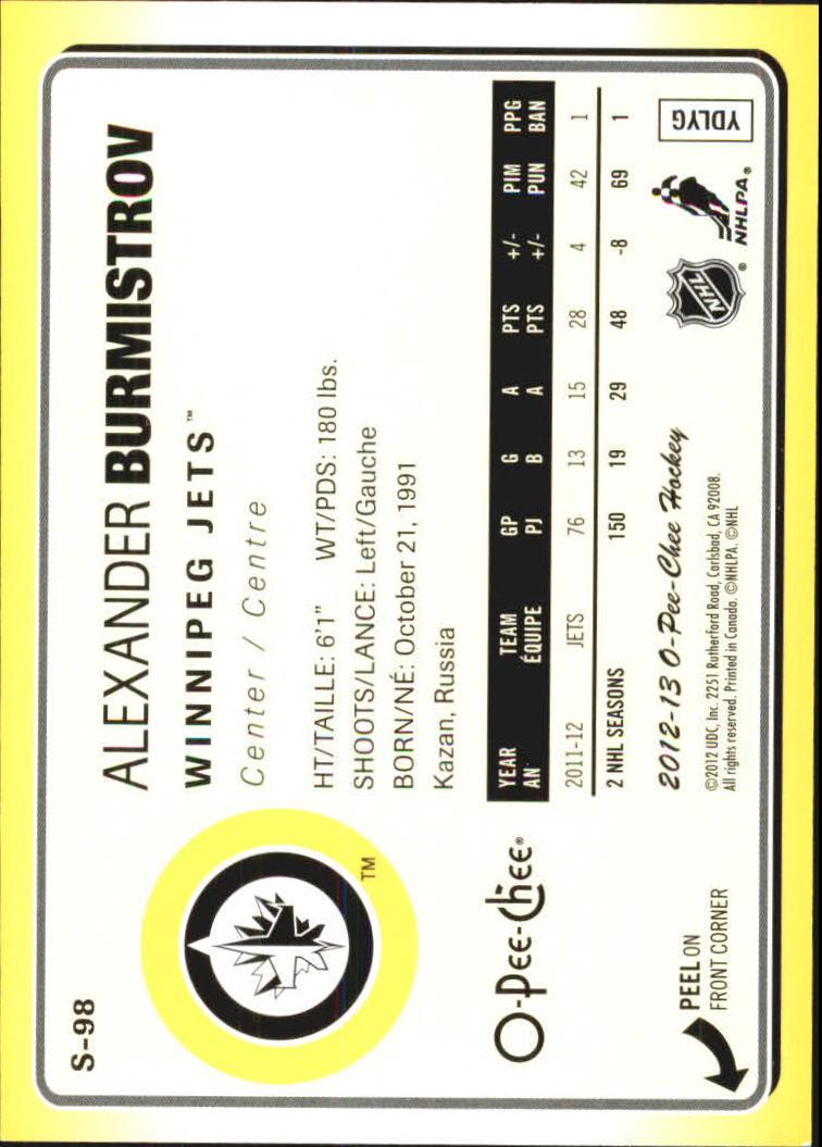 2012-13-O-Pee-Chee-Stickers-Hockey-Card-Pick miniature 53