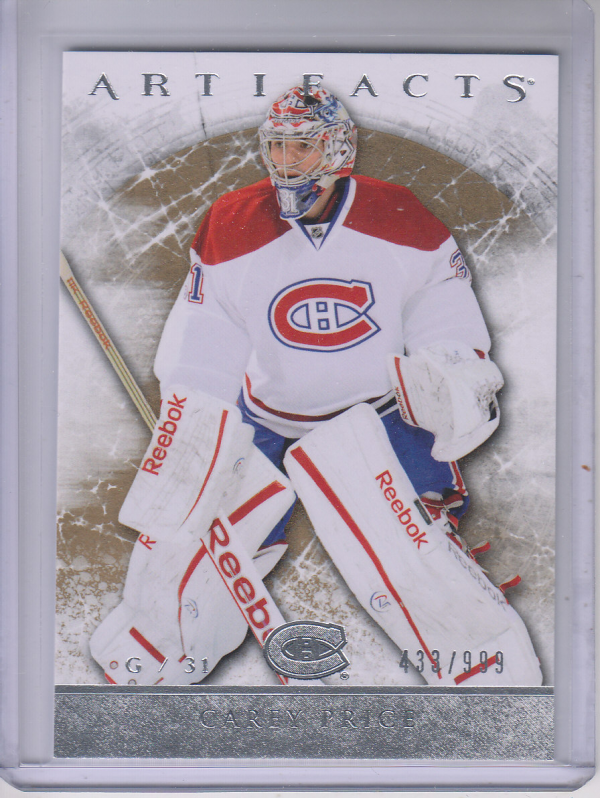2012-13 Artifacts #102 Carey Price