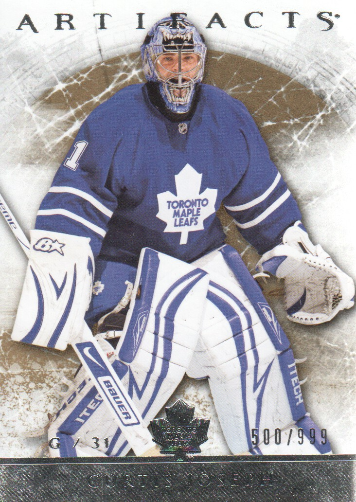 2012-13 Artifacts #105 Curtis Joseph