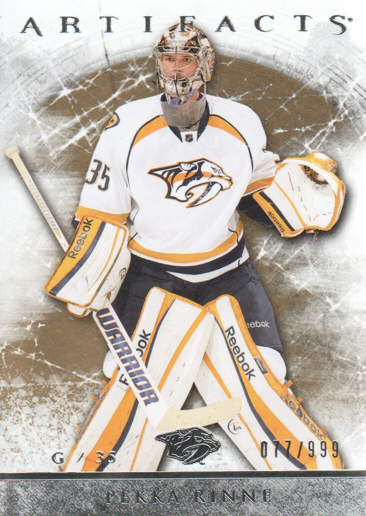 2012-13 Artifacts #108 Pekka Rinne
