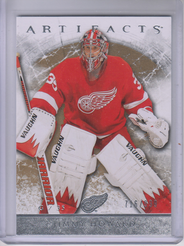 2012-13 Artifacts #110 Jim Howard