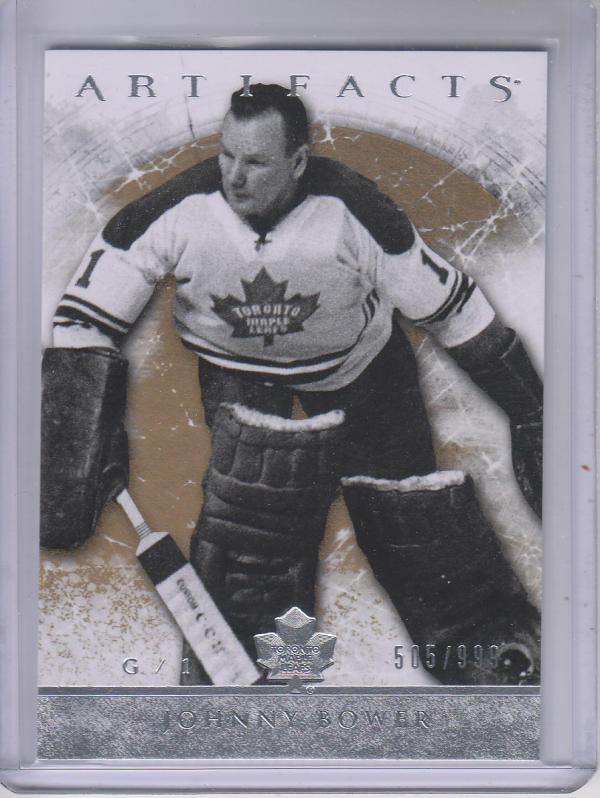 2012-13 Artifacts #111 Johnny Bower