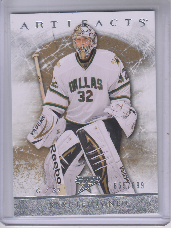 2012-13 Artifacts #114 Kari Lehtonen