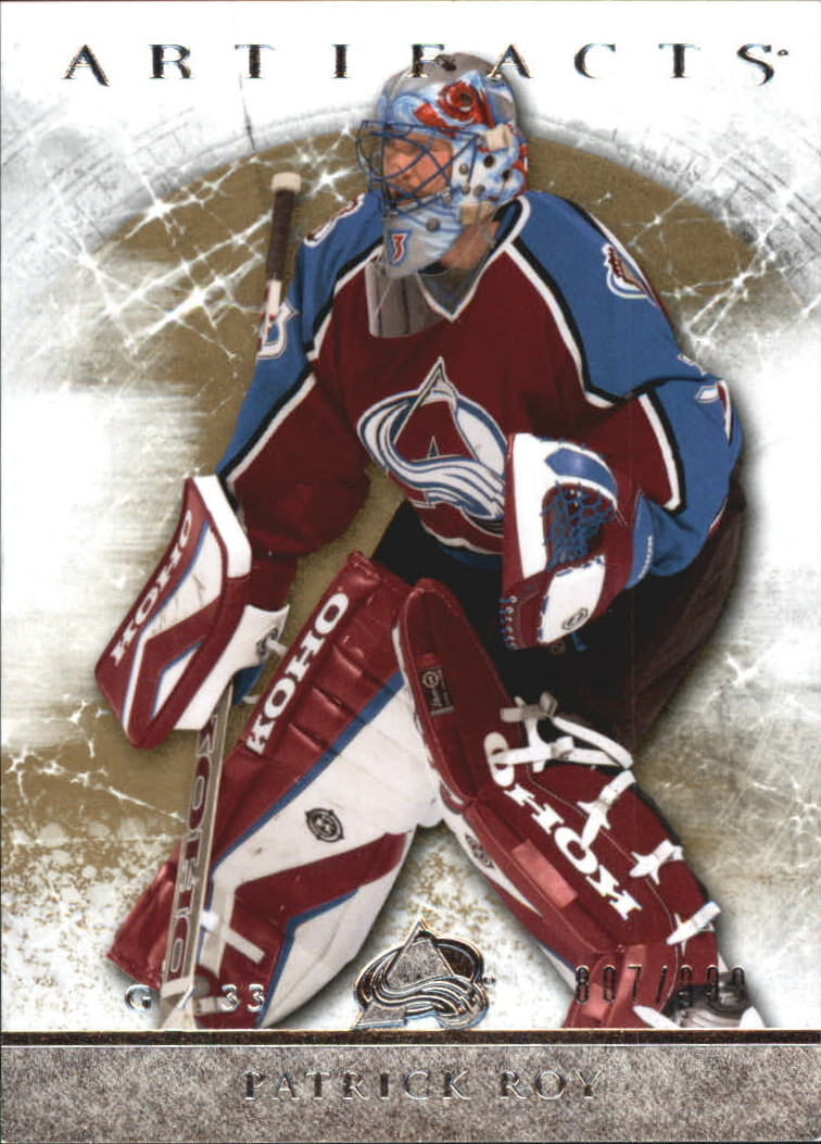 2012-13 Artifacts #118 Patrick Roy