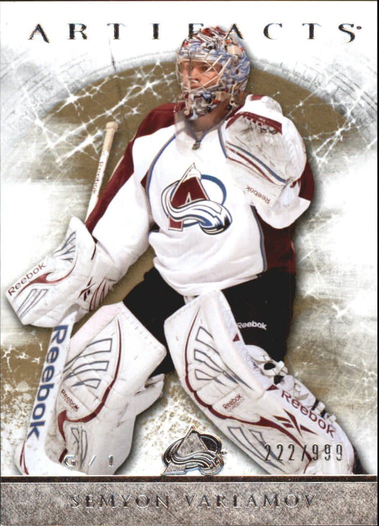 2012-13 Artifacts #119 Semyon Varlamov