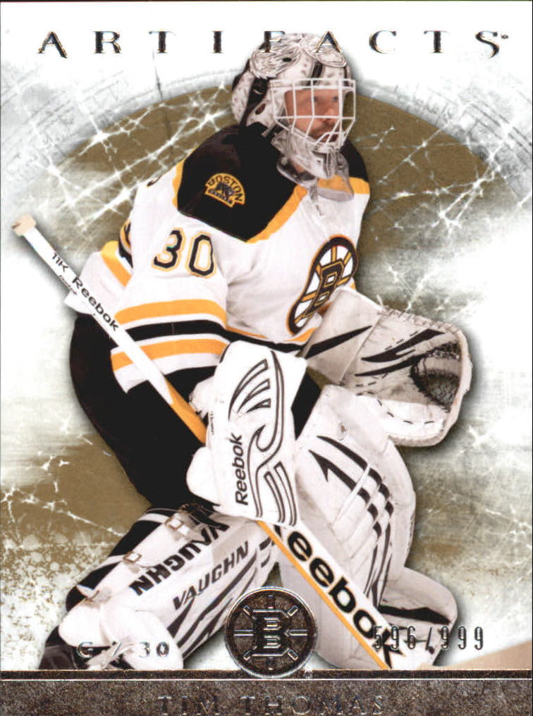 2012-13 Artifacts #122 Tim Thomas