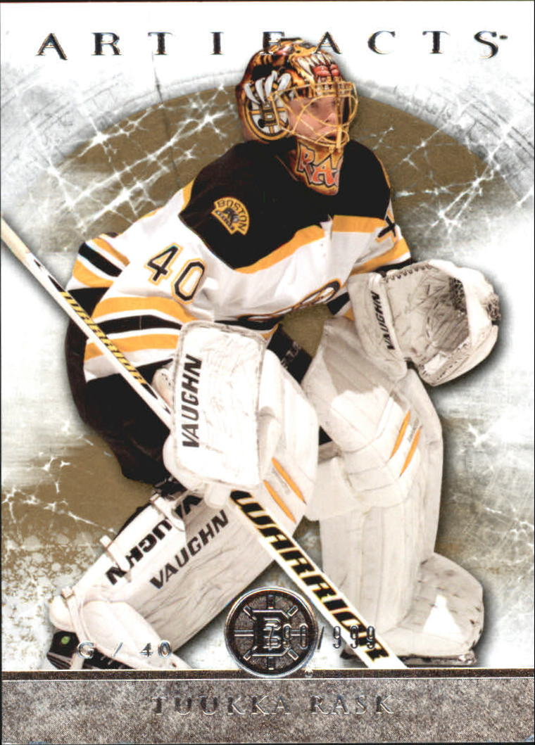 2012-13 Artifacts #125 Tuukka Rask