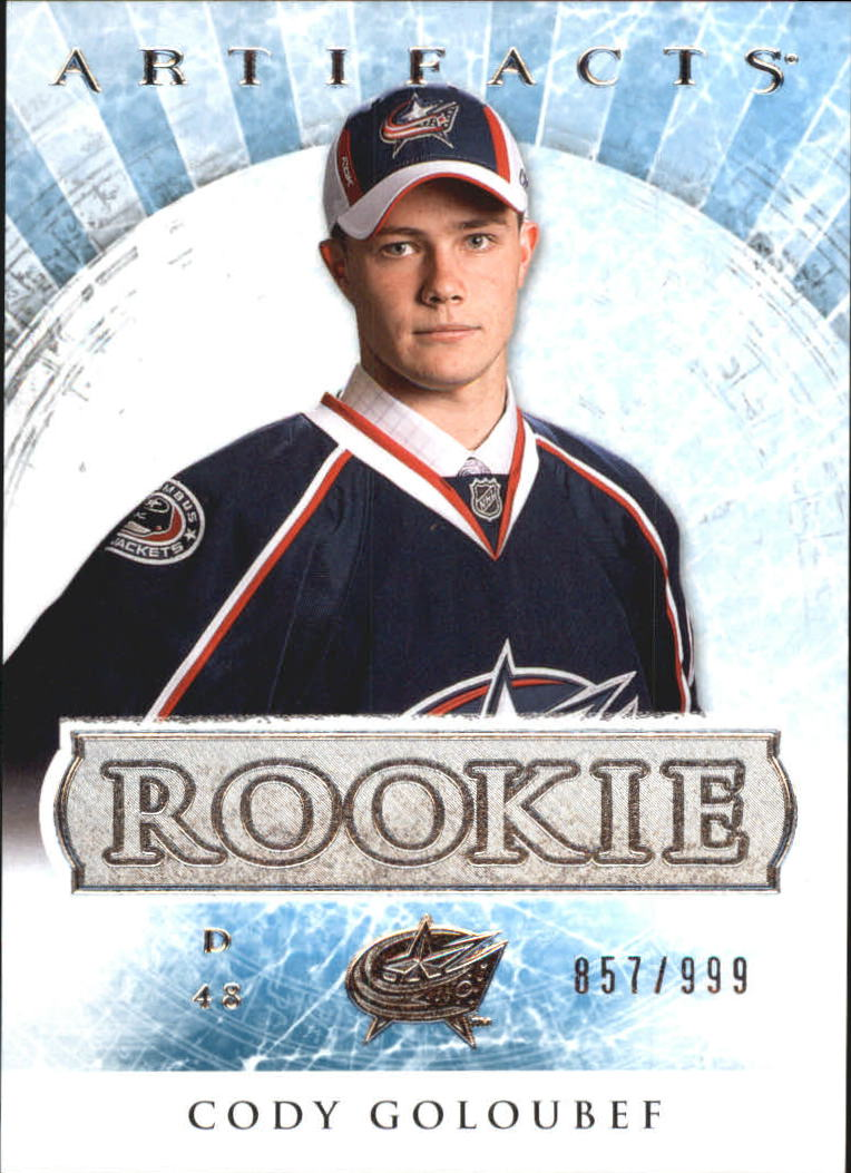 2012-13 Artifacts #165 Cody Goloubef RC