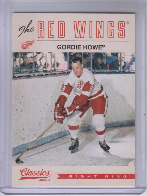 2012-13 Classics Signatures #1 Gordie Howe