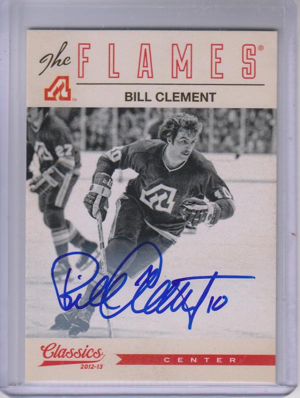 2012-13 Classics Signatures Autographs #123 Bill Clement