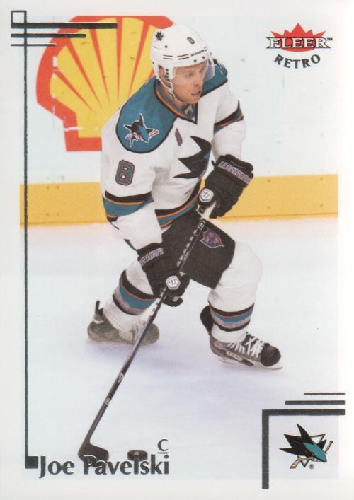 2012-13 Fleer Retro #22 Joe Pavelski