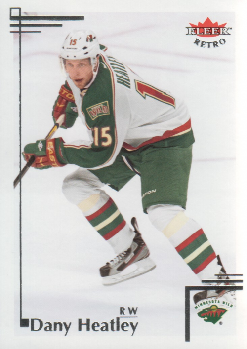 2012-13 Fleer Retro #52 Dany Heatley