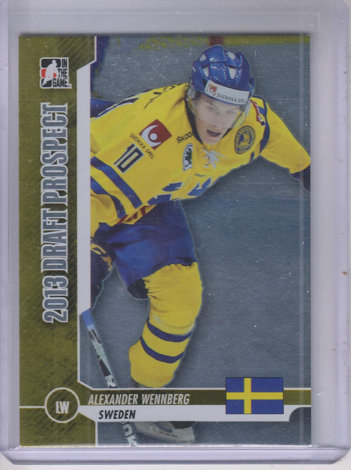 2012-13 ITG Draft Prospects #3 Alexander Wennberg