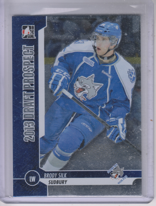 2012-13 ITG Draft Prospects #7 Brody Silk