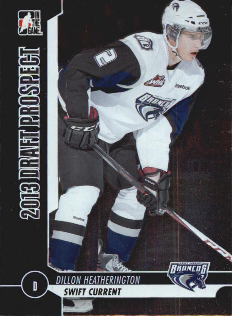 2012-13 ITG Draft Prospects #11 Dillon Heatherington