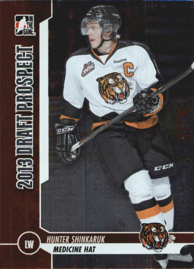2012-13 ITG Draft Prospects #16 Hunter Shinkaruk
