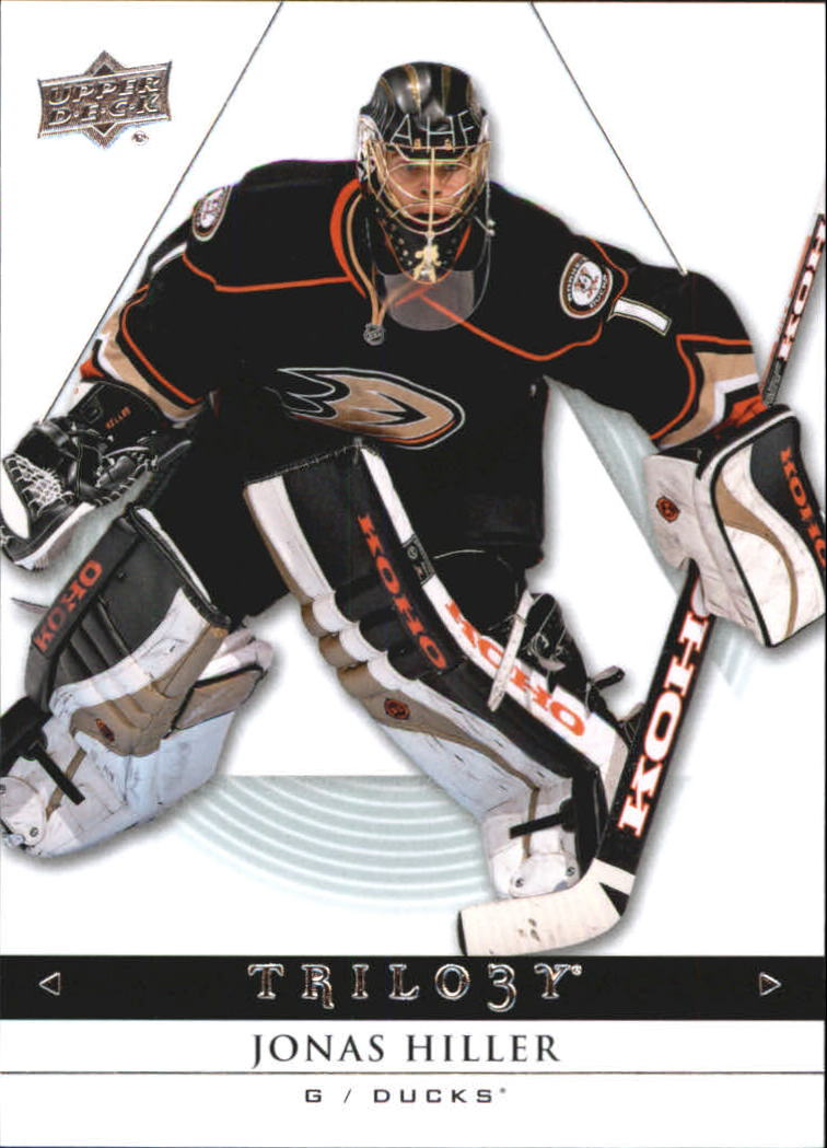 2013-14 Upper Deck Trilogy #3 Jonas Hiller