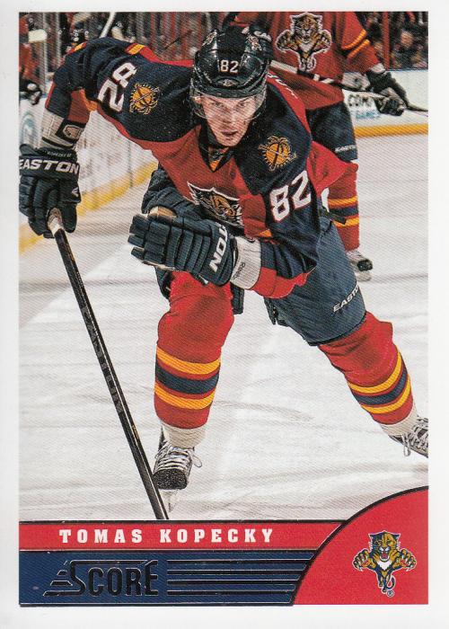 2013-14 Score #207 Tomas Kopecky