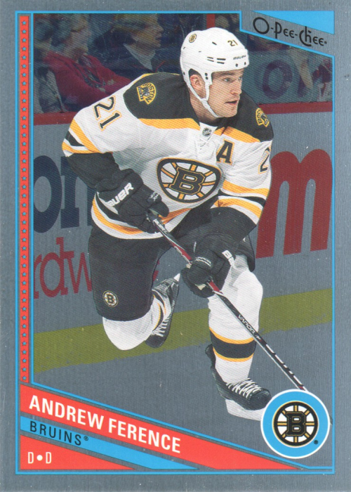 2013-14 O-Pee-Chee Rainbow #4 Andrew Ference