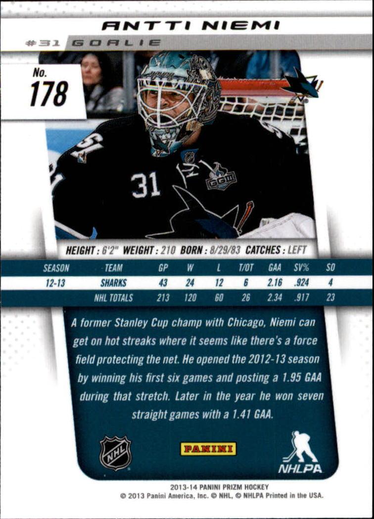 2013-14-Panini-Prizm-Hockey-1-200-Your-Choice-GOTBASEBALLCARDS