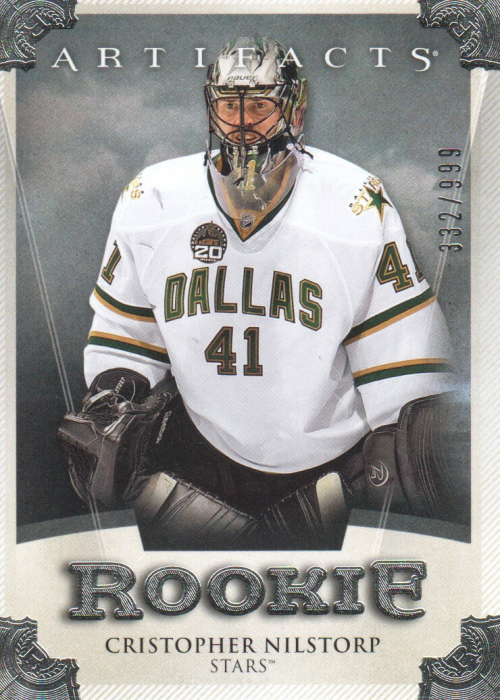 2013-14 Artifacts #161 Cristopher Nilstorp RC