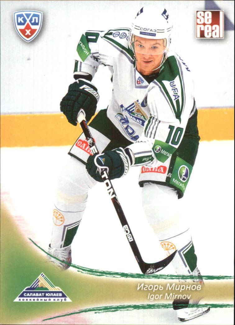 2013-14 Russian Sereal KHL #SAL014 Igor Mirnov