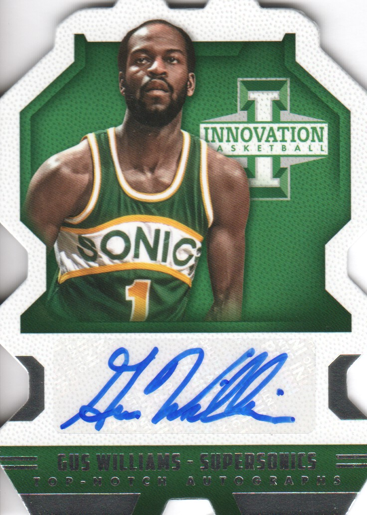 2013-14 Innovation Top Notch Autographs #33 Gus Williams/325