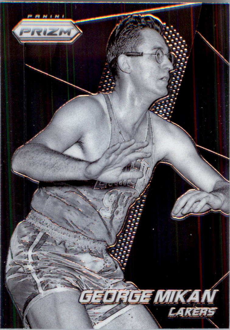 2014-15 Panini Prizm #158 George Mikan