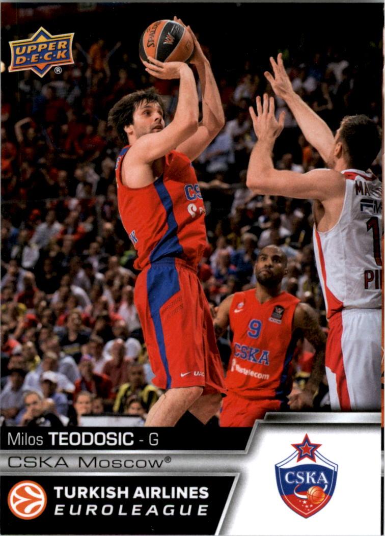 Buy 2015-16 Upper Deck Turkish Airlines Euroleague Sports Cards Online | Basketball Card Value & Checklist - Beckett