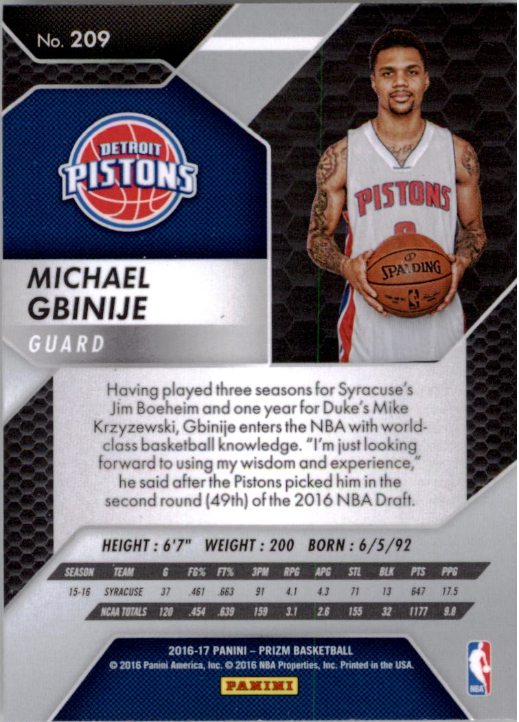 2016-17-Panini-Prizm-Basketball-1-250-Your-Choice-GOTBASEBALLCARDS thumbnail 206