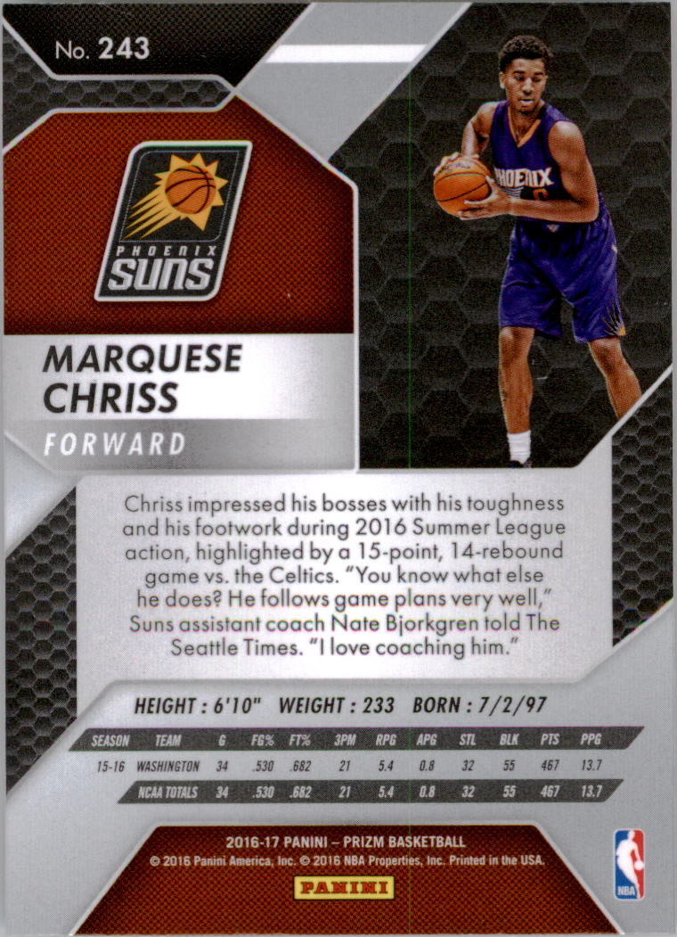 2016-17-Panini-Prizm-Basketball-1-250-Your-Choice-GOTBASEBALLCARDS thumbnail 238