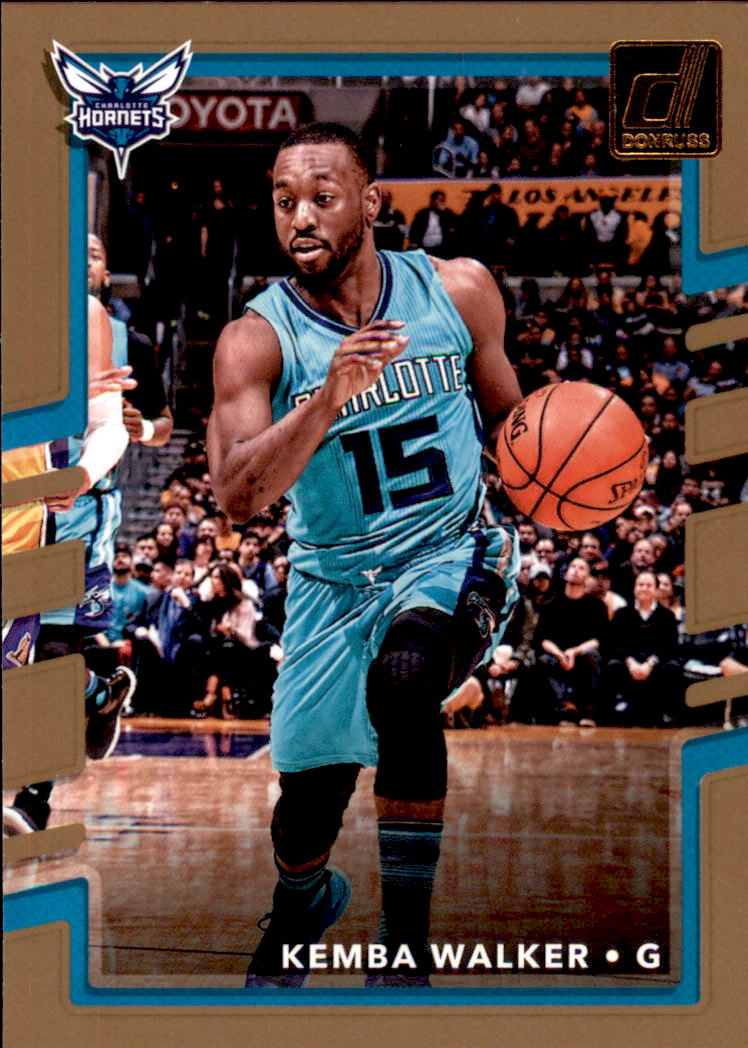 2017-18 Donruss #16 Kemba Walker