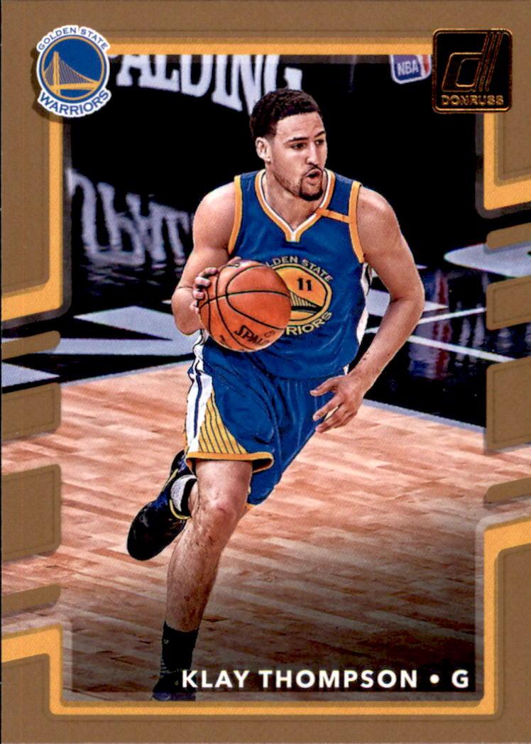 2017-18 Donruss #49 Klay Thompson