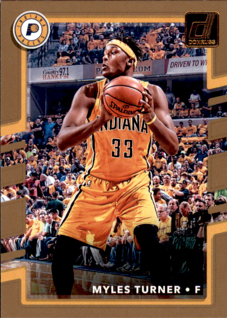 2017-18 Donruss #58 Myles Turner