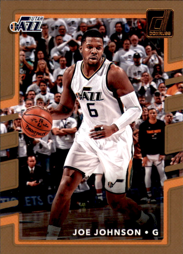 2017-18 Donruss #144 Joe Johnson