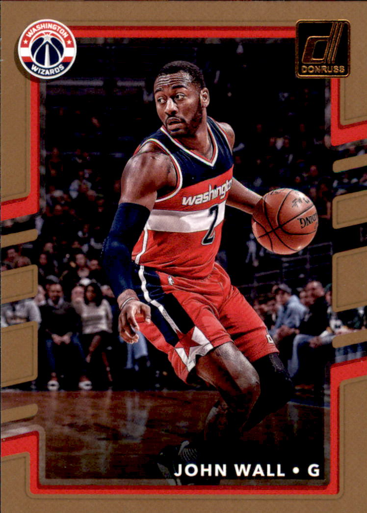 2017-18 Donruss #147 John Wall