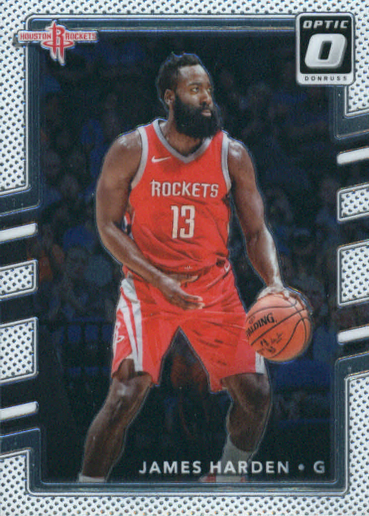 9c7abf892214 2017-18 Donruss Optic Basketball  51 James Harden Houston Rockets