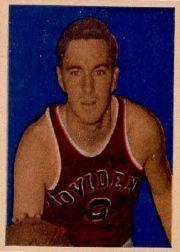 1948 Bowman #1 Ernie Calverley RC