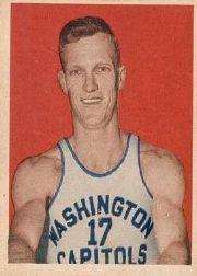 1948 Bowman #46 Bones McKinney RC