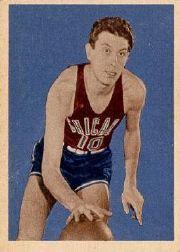 1948 Bowman #55 Max Zaslofsky RC