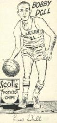 1950-51 Lakers Scott's #1 Bobby Doll