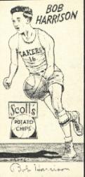 1950-51 Lakers Scott's #4 Bob Harrison
