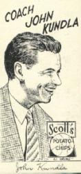 1950-51 Lakers Scott's #7 John Kundla CO