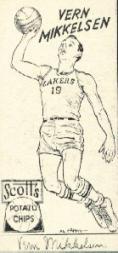 1950-51 Lakers Scott's #10 Vern Mikkelsen