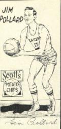 1950-51 Lakers Scott's #12 Jim Pollard